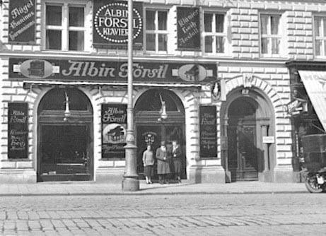 Klavierhaus A. Förstl 1934