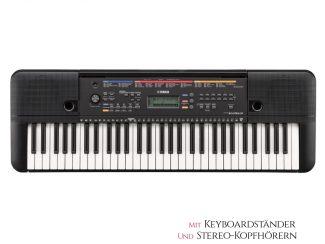 Yamaha PSEE263 Keyboard Set inkl. Kopfhörer und Ständer