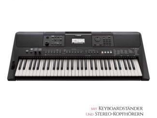 Yamaha PSRE463 Keyboard Set