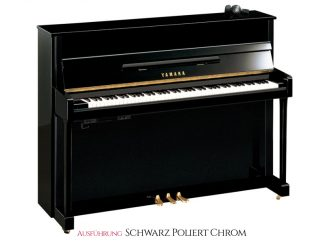 Yamaha Silent Piano B3ESC2PEC schwarz poliert, Chrom