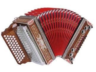 Kärntnerland 43edhgcfb Harmonika Edelholz