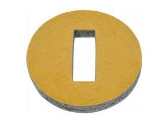 Jahn 631050 Filzscheiben selbstklebend 5,5cm