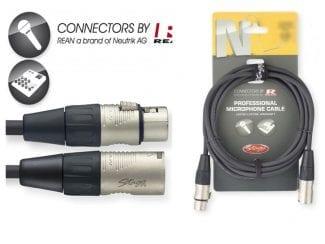 STAGG NMC10R Mikrofonkabel 10m