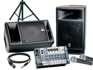 PA-Equipment und Audiotechnik
