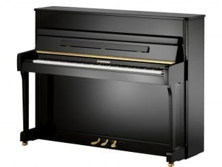 W.Hoffmann V112SP Piano 112cm schwarz poliert