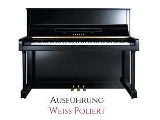Yamaha B3EPWH Piano weiß poliert