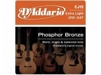 D`Addario EJ15 Westerngitarre Saitensatz 010-047