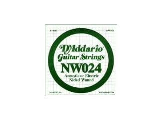 D`Addario NW24 E-Gitarren-Saite 24w
