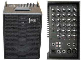 Acus One8blk Universalverstärker One8 schwarz