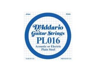 D`Addario PL016 E-Gitarre/Western Einzelsaite