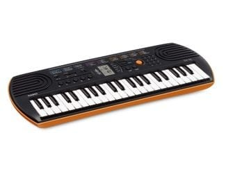 Casio SA76 Minikeyboard orange, 44 Tasten